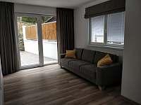 Obývací pokoj - pronájem chalupy Mašov