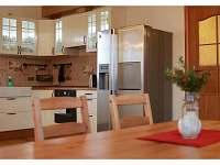 Společná místnost a kuchyně
