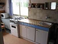 kuchyň - pronájem chaty Michovka