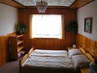 ložnice - chata k pronajmutí Michovka