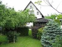 zahrada - chata ubytování Michovka