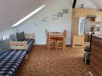 obývací pokoj - apartmán ubytování Mírova pod Kozákovem