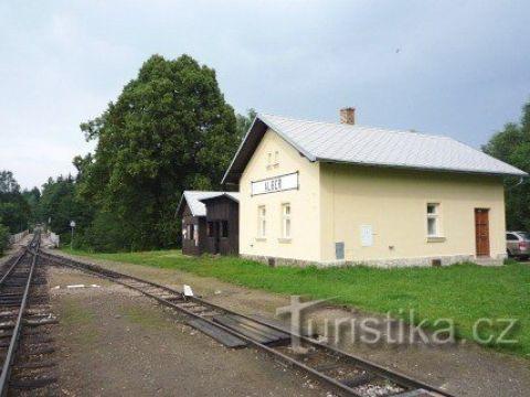 Albeř - železniční stanice
