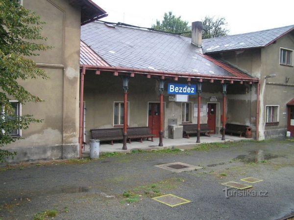 Bezděz - železniční stanice