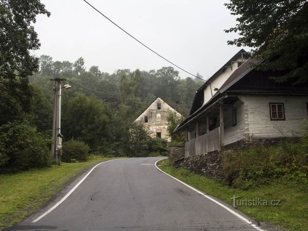 Branná - areál mlýnů