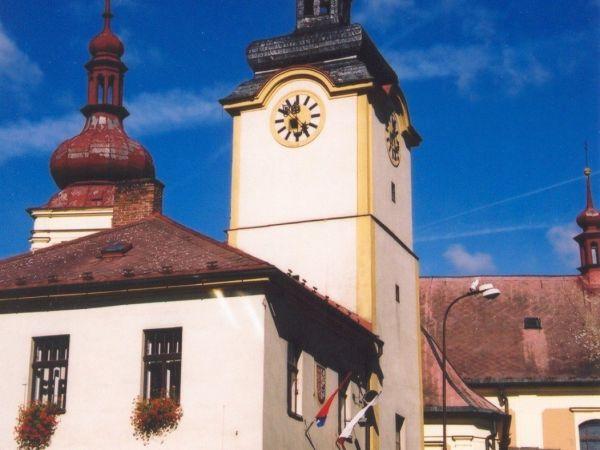 Březová nad Svitavou - Moravské náměstí