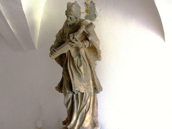 Březová nad Svitavou - socha sv. Jana Nepomuckého
