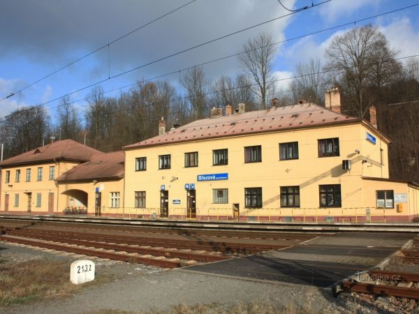 Březová nad Svitavou - železniční stanice