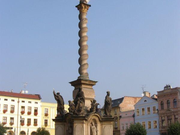 Broumov - Mírové náměstí, soubor památek