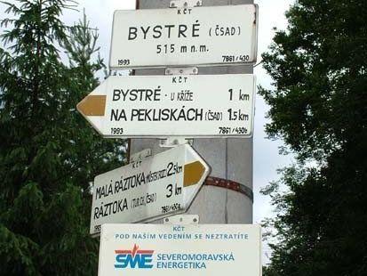 Bystré - bus