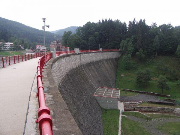 Bystřička - jezero