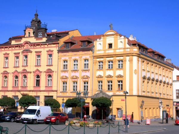 Chrudim - Khomorovský dům