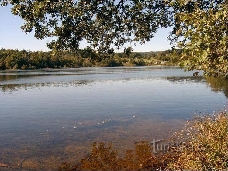 Děpoltovické jezero