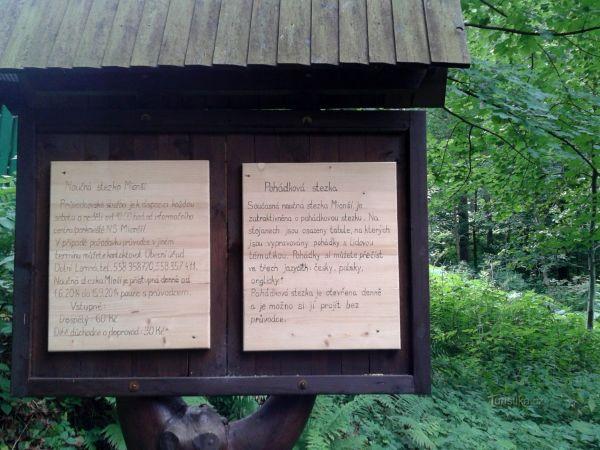 Dolní Lomná - pohádková stezka
