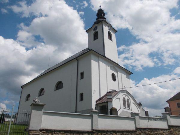 Dolní Morava - kostol sv. Aloise