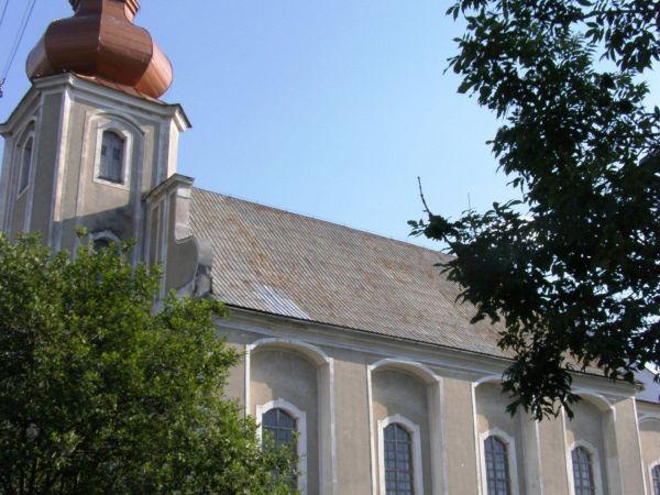 Domašov - kostel sv. Tomáše