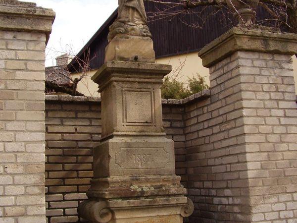 Drobné památky městečka Buchlovic