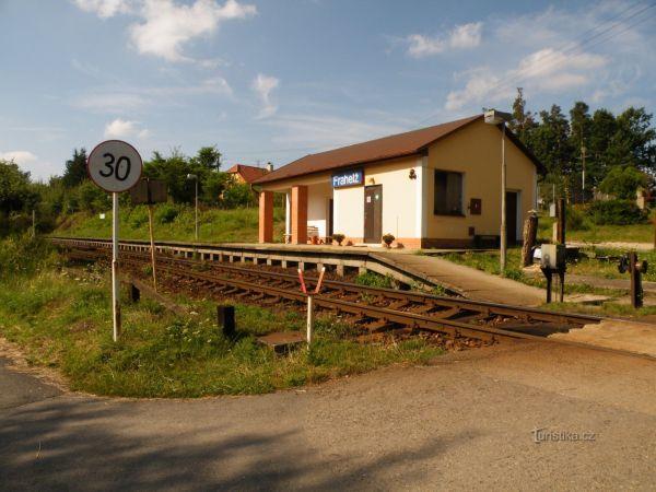 Frahelž - železniční stanice