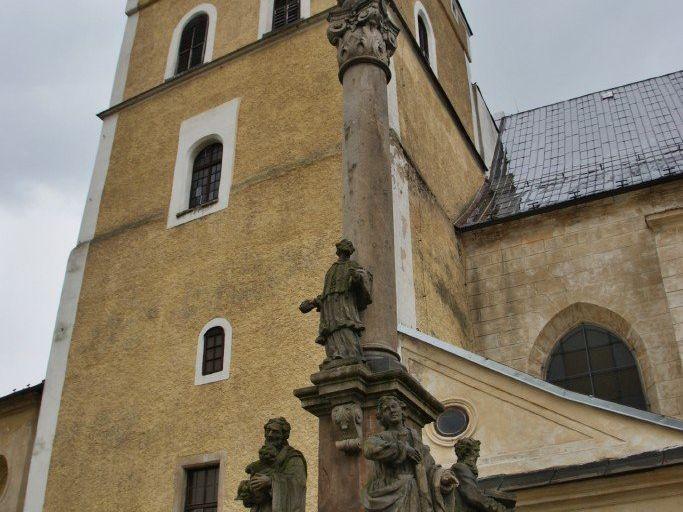 Frýdlant (v Čechách) – mariánský morový sloup