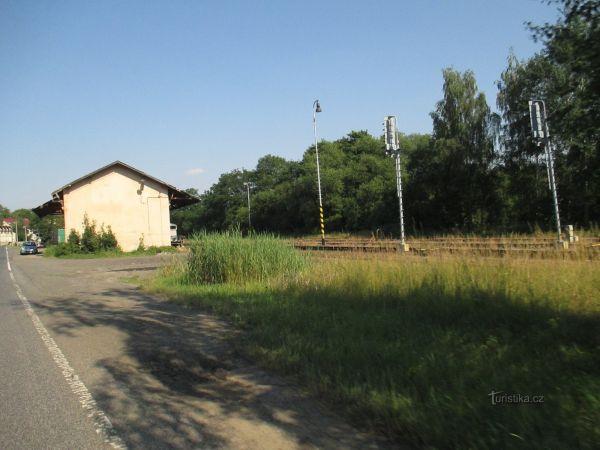 Horní Police - železniční stanice