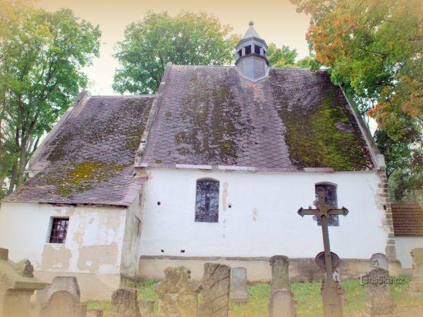 Hostíkovice - nejstarší sakrální stavba českolipska