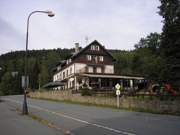 Hotel Orlice v Deštné v Orlických horách