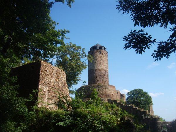 Hrad Hasištejn - Veľká Veža