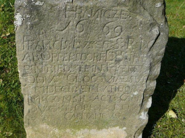 Hraniční kámen Oppersdorfů