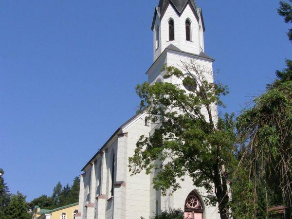 Janské Lázně - evangelický kostel