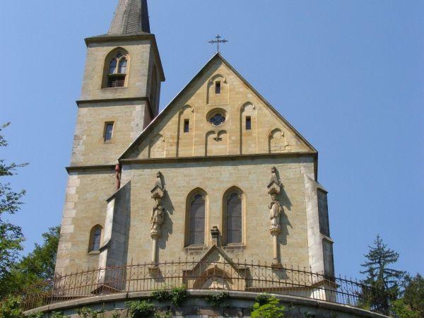 Janské Lázně - kostel sv. Jana Křtitele