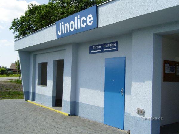 Jinolice - železniční stanice