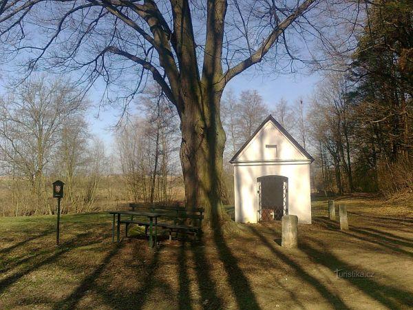 kaple nejsvětější Trojice u Police
