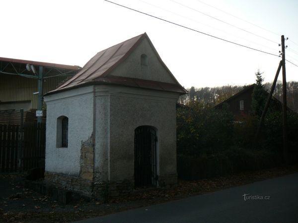Kaple Panny Marie ve Skalici na Záhoří