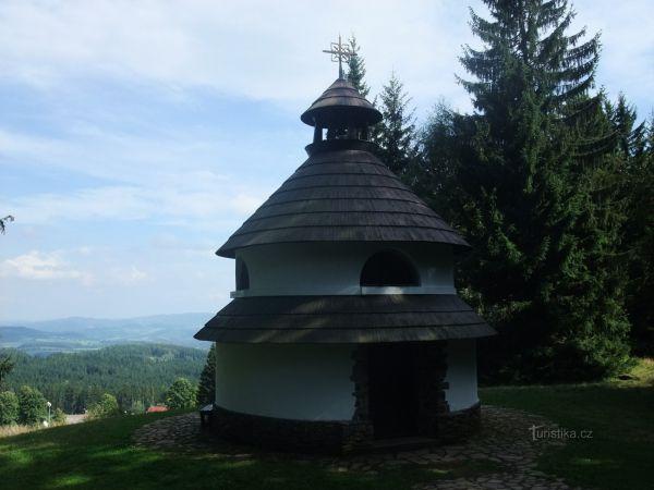 Kaple sv. Antonína Paduánského v Javorníku
