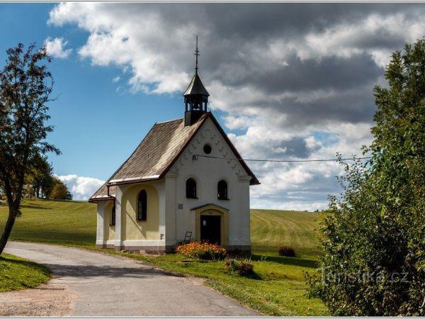Kaple sv. Panny Marie Sněžné ve Sněžném