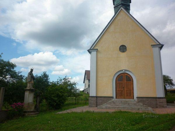 Kaple svatého Antonína na Dobrošově