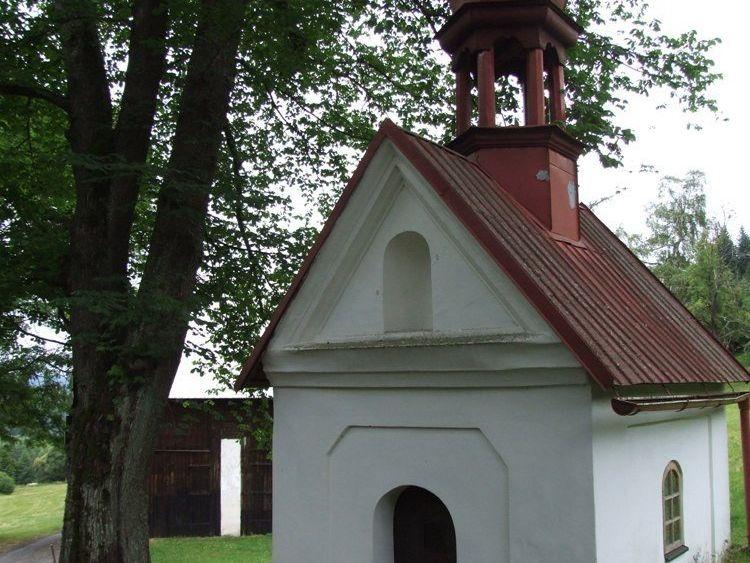 Kaplička na Hamerské stezce