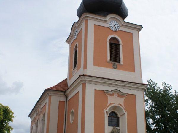 Kladruby (u Stříbra) – kostel sv. Jakuba s lapidáriem křížových kamenů