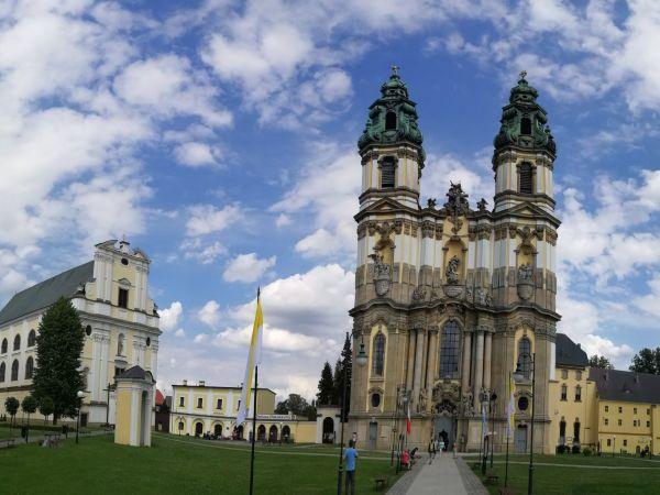 Klášter Krzeszow - po rekonstrukci v plné kráse