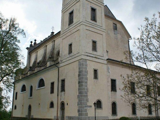 Klášter u Nové Bystřice – kostel Nejsvětější Trojice
