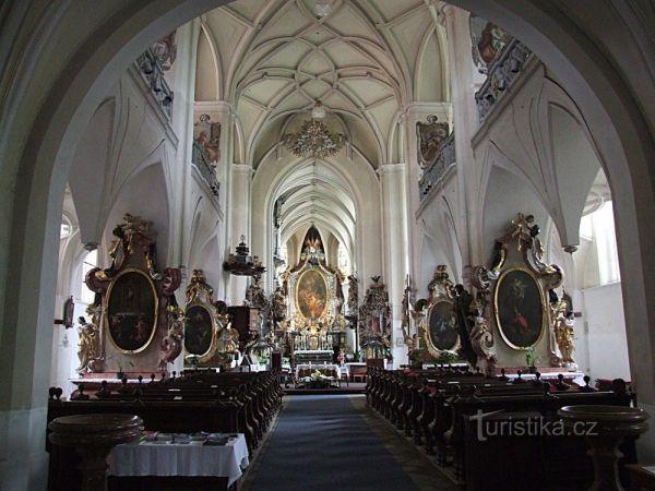 Klášterní kostel Narození P. Marie