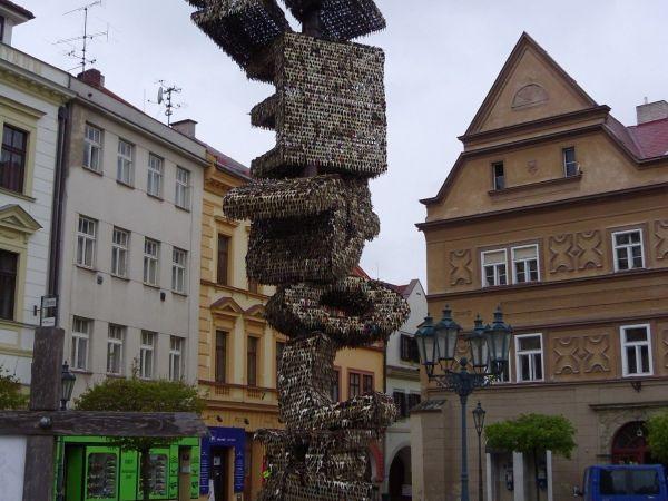 Klíčová socha v Chrudimi
