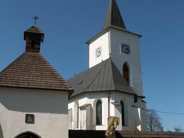 Kostel a kostnice, Velká Losenice