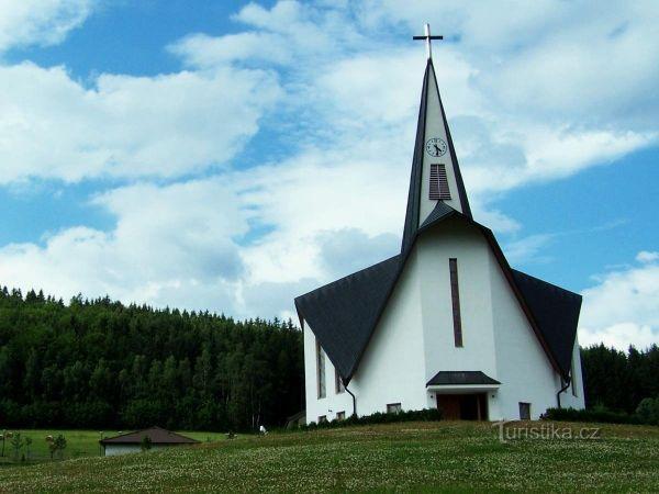 Kostel sv. Zdislava z Lemberka