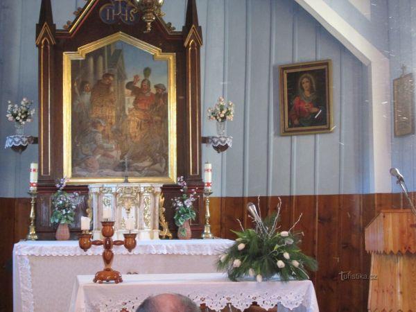 Kostel svatého Antonína Paduánského (Prašivá)