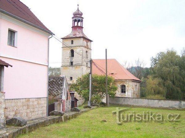 Kostel Všech Svatých ve Stvolínkách