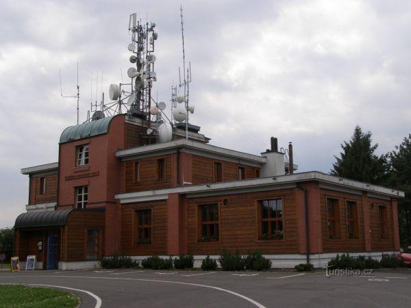 Kozákov - Riegrova chata s rozhlednou