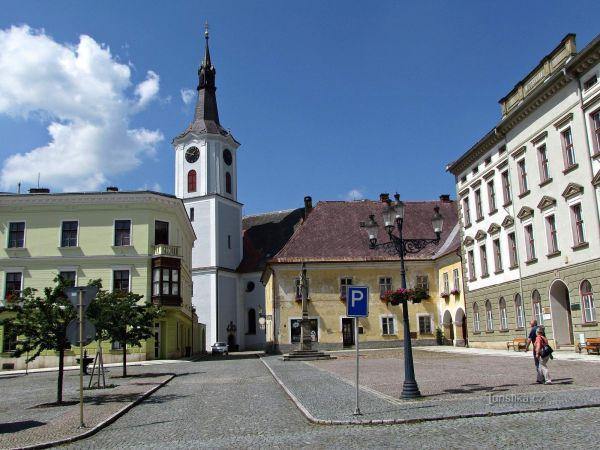 Králícký kostel sv.Archanděla Michaela