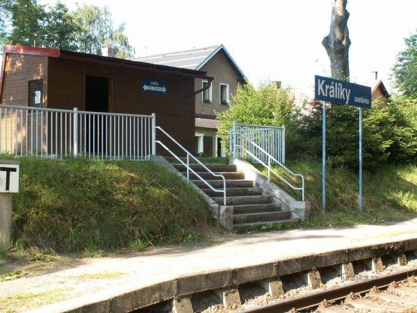 Králíky zastávka - železniční stanice