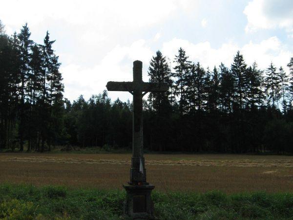 Kříž francouzských vojáků u Nové Včelnice
